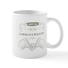 40th Vintage Anniversary Mug