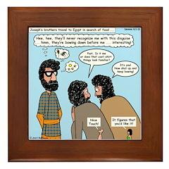 Joseph Disguised Framed Tile