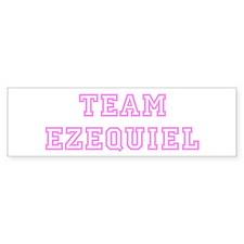 Pink team Ezequiel Bumper Bumper Sticker