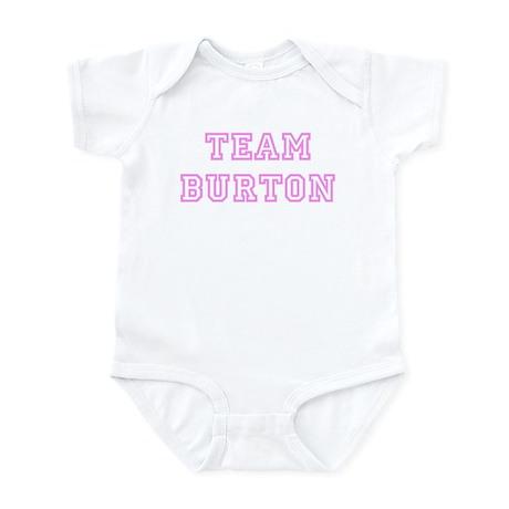 Pink team Burton Infant Bodysuit