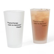 Physical Therapy / Rehab Quote Drinking Glass