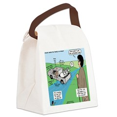 Ford of Jabbok Canvas Lunch Bag