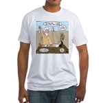 Abraham and Isaac Camping Fitted T-Shirt