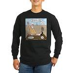 Abraham and Isaac Camping Long Sleeve Dark T-Shirt
