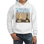 Abraham and Isaac Camping Hooded Sweatshirt