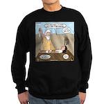 Abraham and Isaac Camping Sweatshirt (dark)