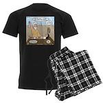 Abraham and Isaac Camping Men's Dark Pajamas