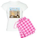 Abraham and Isaac Camping Women's Light Pajamas