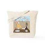 Abraham and Isaac Camping Tote Bag