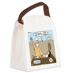 Abraham and Isaac Camping Canvas Lunch Bag