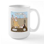Abraham and Isaac Camping Large Mug