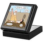 Abraham and Isaac Camping Keepsake Box