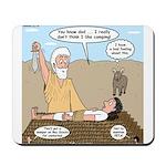 Abraham and Isaac Camping Mousepad