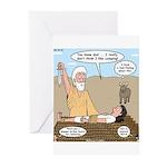 Abraham and Isaac Camping Greeting Cards (Pk of 10