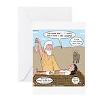 Abraham and Isaac Camping Greeting Cards (Pk of 20