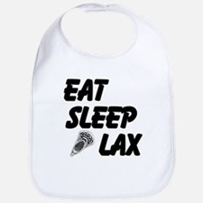 Eat Sleep Lax Bib