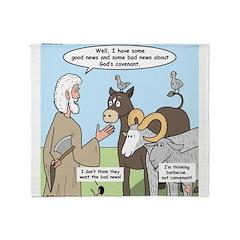 Covenant Part I Throw Blanket