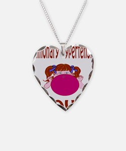 Pulmonary Hypertension Blows! Necklace