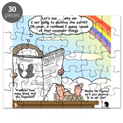 Rainbow: God's Sticky Note Puzzle