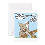 Noah and God Greeting Cards (Pk of 10)