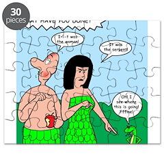 Adam and Eve Blame Game Puzzle