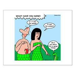 Adam and Eve Blame Game Posters