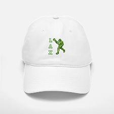 Green LAX Player Baseball Baseball Cap