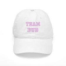 Pink team Bud Baseball Cap