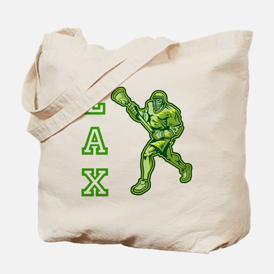Green LAX Player Tote Bag