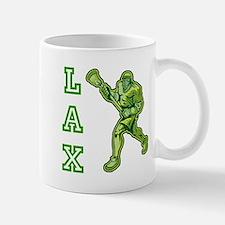 Green LAX Player Mug