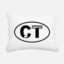 Connecticut Rectangular Canvas Pillow