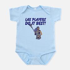 Lax Players Do It Best Infant Bodysuit