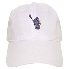 Female Lacrosse Player Baseball Cap