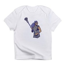 Female Lacrosse Player Infant T-Shirt