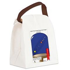 God's Science Fair Exhibit Canvas Lunch Bag