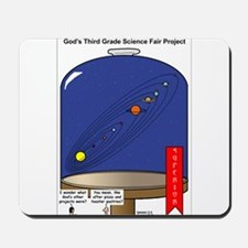 God's Science Fair Exhibit Mousepad