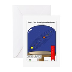 God's Science Fair Exhibit Greeting Cards (Pk of 2