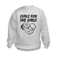Curls For The Girls Sweatshirt