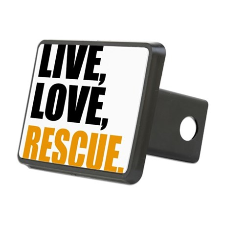 rescue Rectangular Hitch Cover