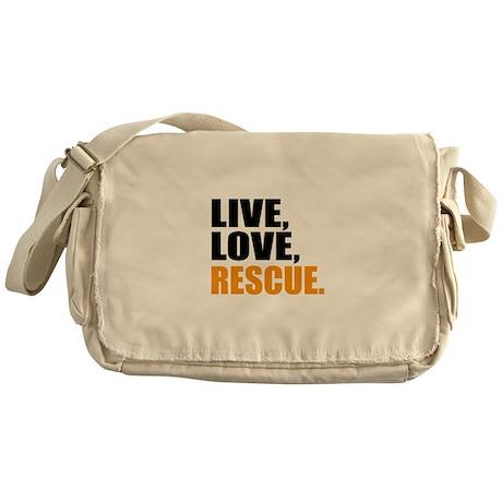 rescue Messenger Bag