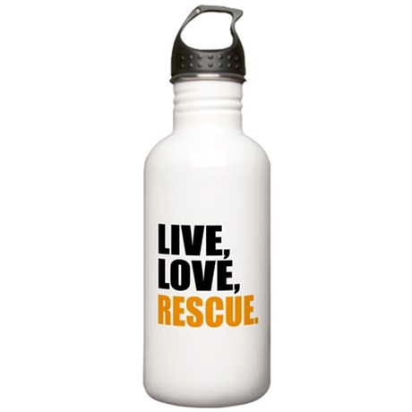 rescue Stainless Water Bottle 1.0L