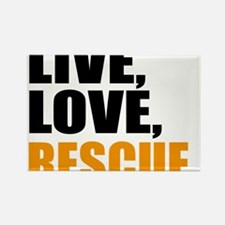 rescue Rectangle Magnet