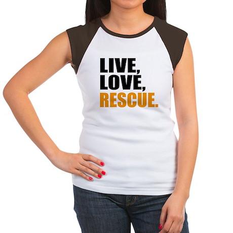 rescue Women's Cap Sleeve T-Shirt