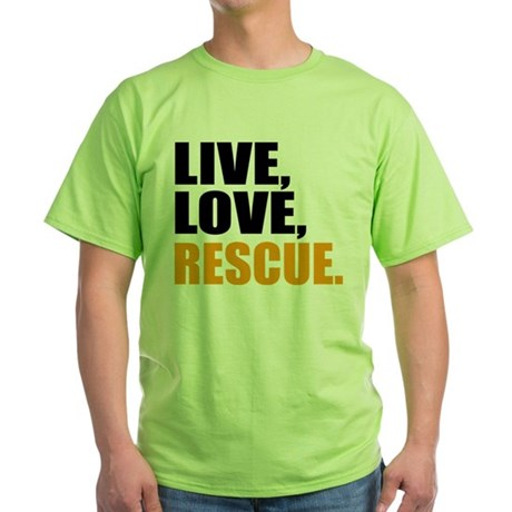 rescue Green T-Shirt