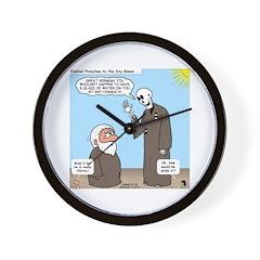 Ezekiel's Dry Bones Wall Clock