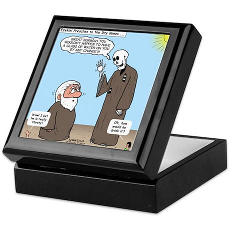 Ezekiel's Dry Bones Keepsake Box
