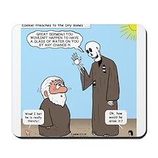 Ezekiel's Dry Bones Mousepad