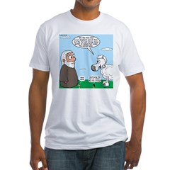 Fat Sheep Protest Fitted T-Shirt