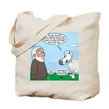 Fat Sheep Protest Tote Bag
