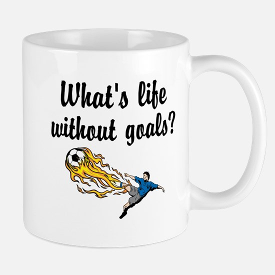 Whats Life Without Goals Mug